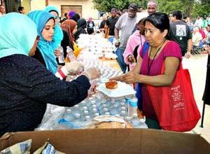 moslims liefdadigheid